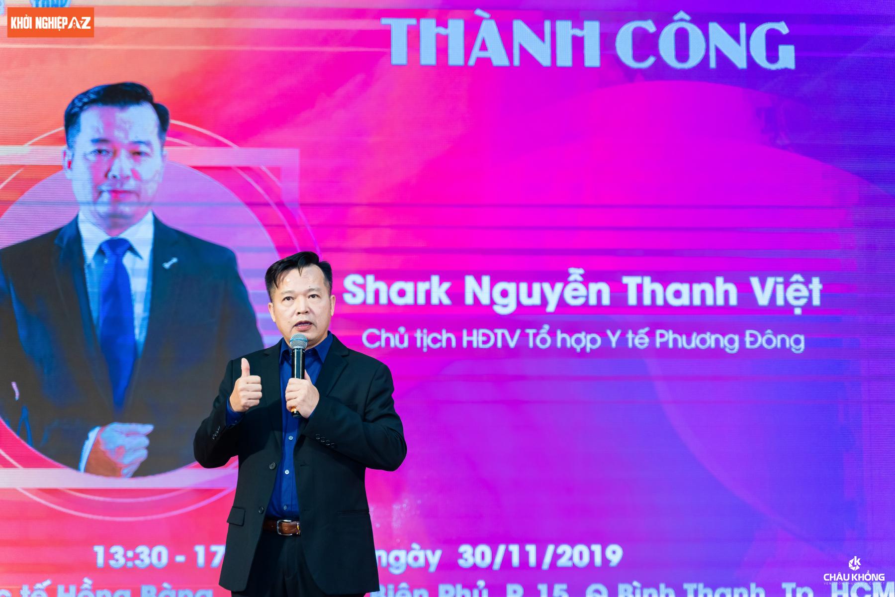 Highlight hội thảo Shark Việt - Những chia sẻ tâm huyết và đầy cảm hứng của Shark Nguyễn Thanh Việt dành cho doanh nhân, Startup