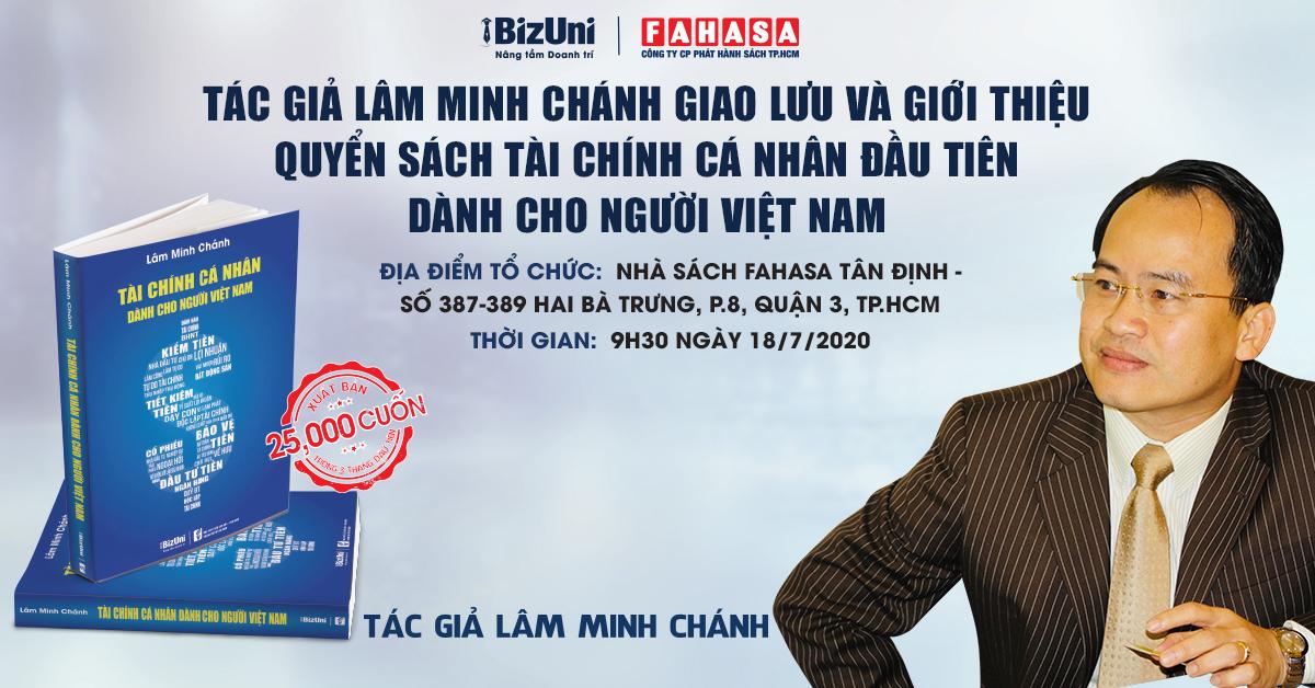 Sách Tài chính cá nhân dành cho người Việt Nam Lâm Minh Chánh